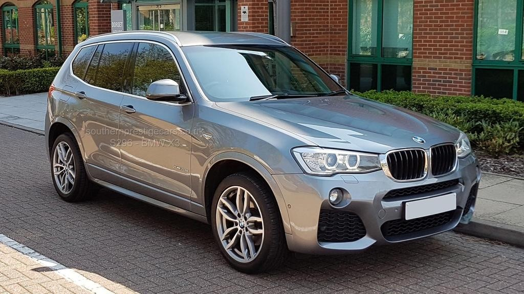 used BMW X3 20d M Sport xDrive 5dr in surrey