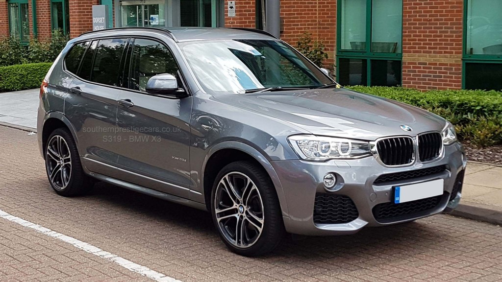 used BMW X3 20d M Sport Auto xDrive 5dr in surrey