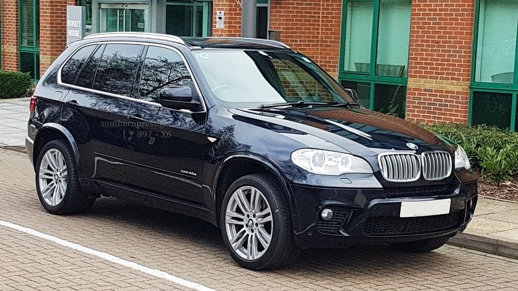 used BMW X5 40d M Sport xDrive 5dr in surrey
