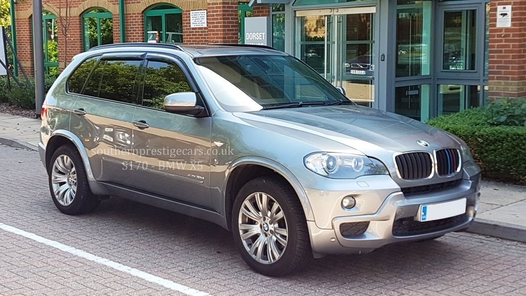 used BMW X5 30d M Sport xDrive 5dr in surrey
