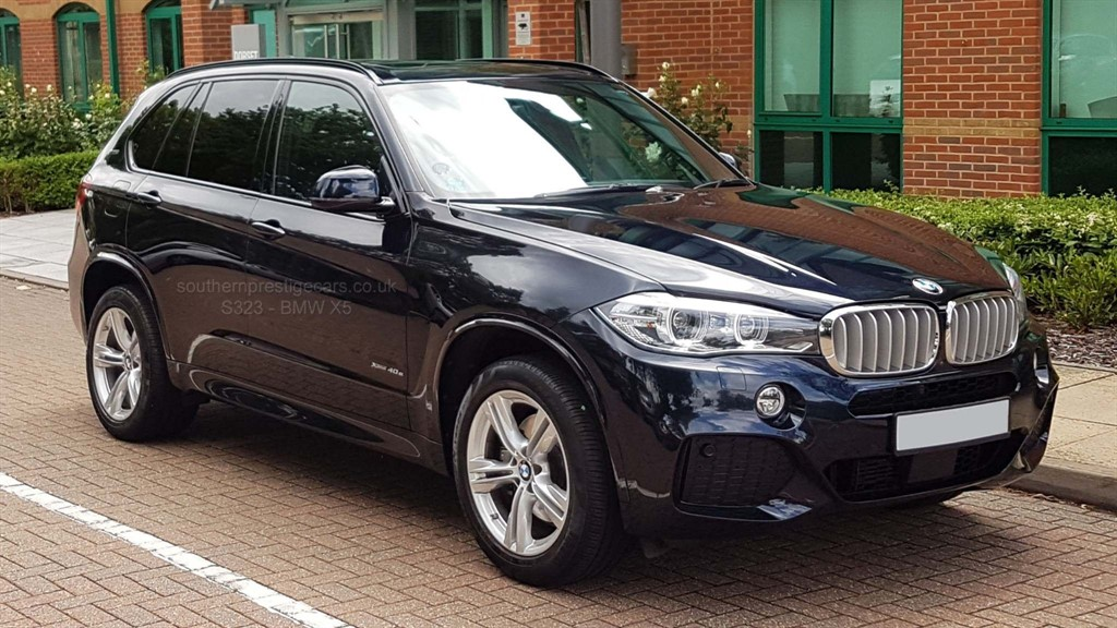 used BMW X5 40e M Sport xDrive 5dr in surrey