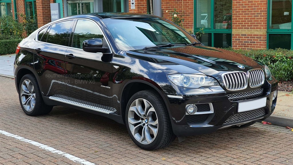 used BMW X6 40d xDrive 5dr in surrey