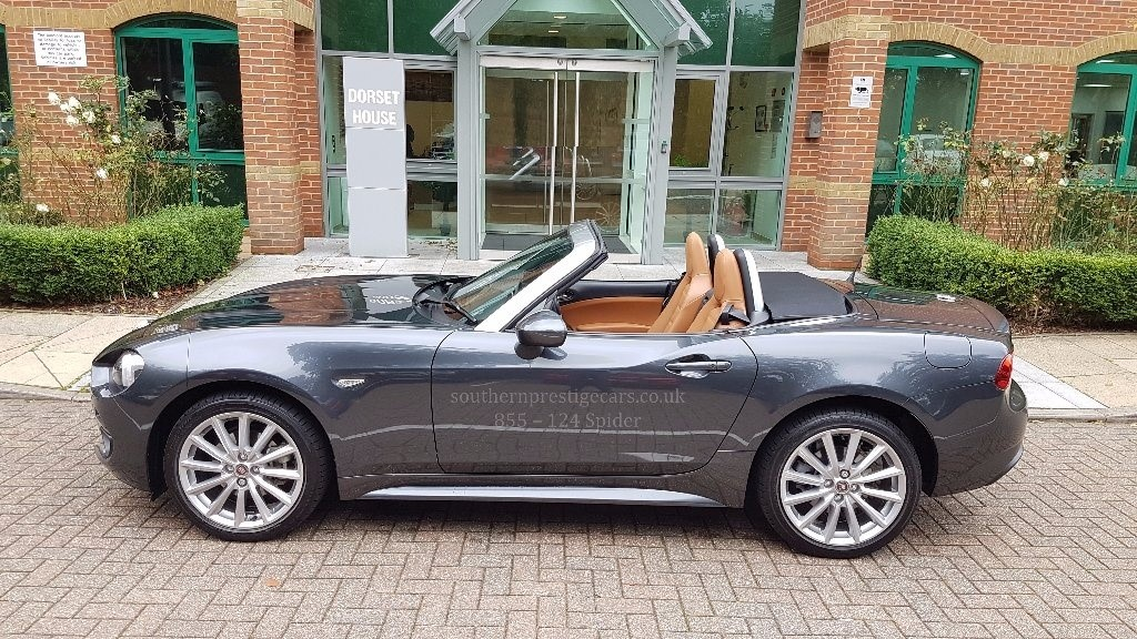 used grey fiat spider for sale surrey. Black Bedroom Furniture Sets. Home Design Ideas