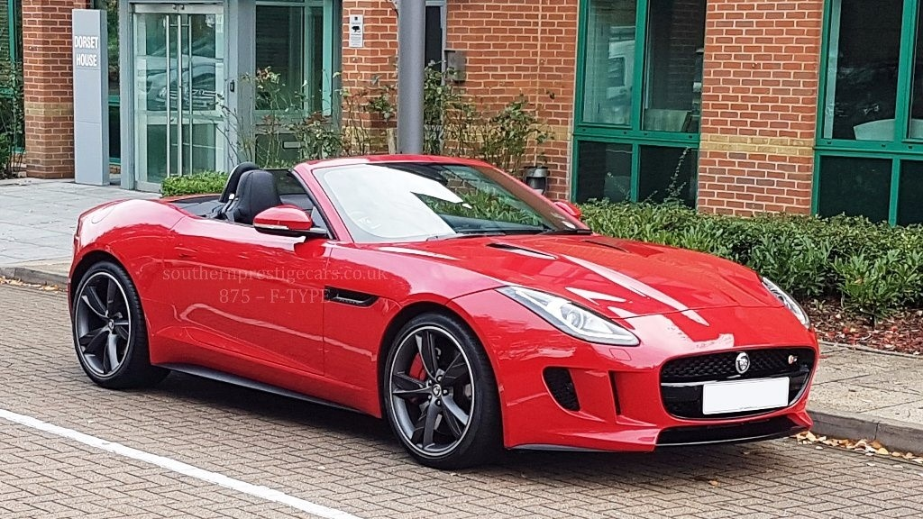 Used Red Jaguar F-Type for Sale | Surrey