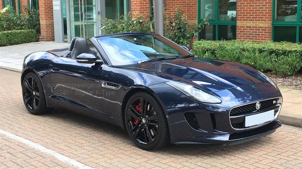 used Jaguar F-Type V6 S Quickshift 2dr in surrey