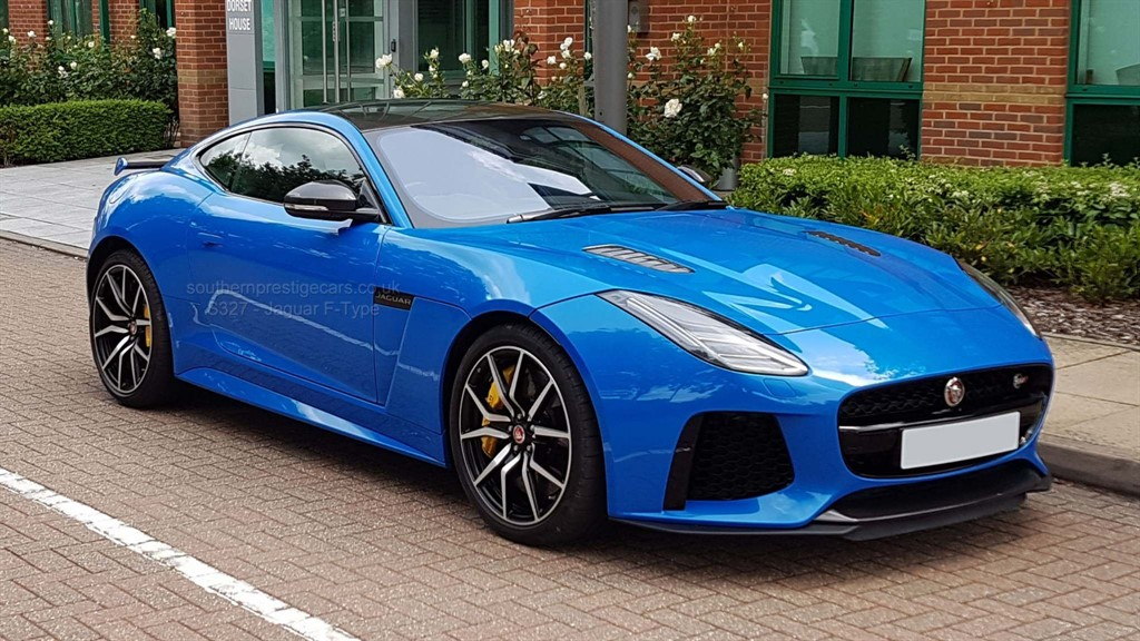 used Jaguar F-Type V8 Supercharged SVR Auto (AWD) (s/s) 2dr in surrey