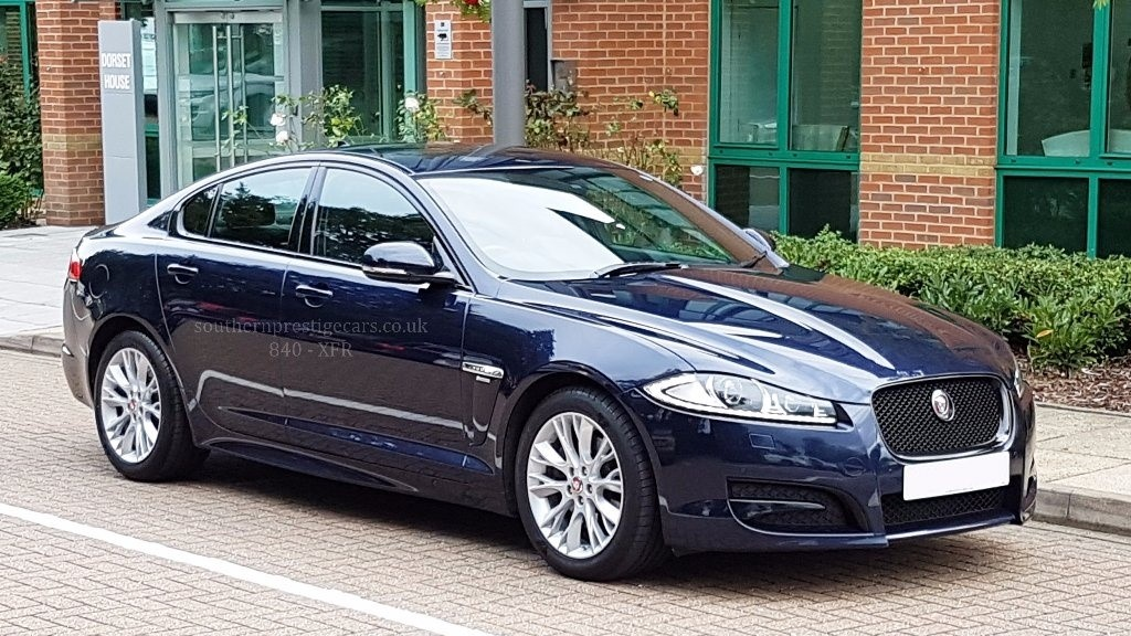 used Jaguar XF TD R-Sport 4dr (start/stop) in surrey