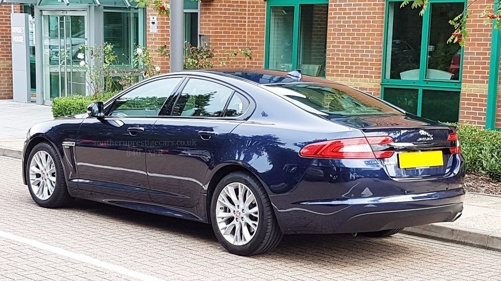 used blue jaguar xf for sale | surrey