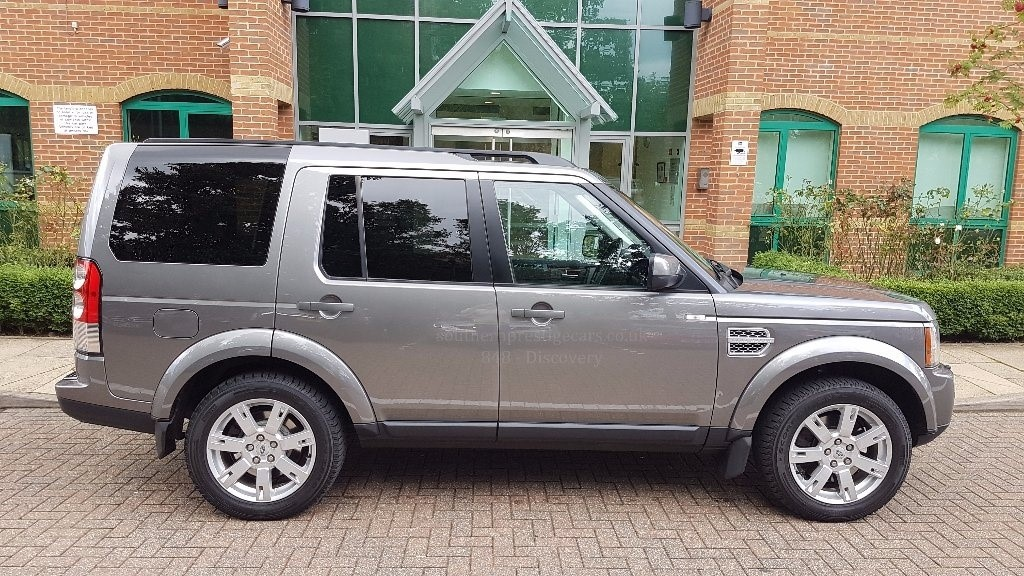 Used Grey Land Rover Discovery for Sale | Surrey