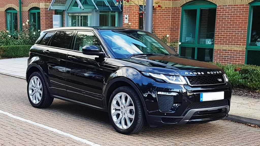 used Land Rover Range Rover Evoque TD4 HSE Dynamic AWD (s/s) 5dr in surrey