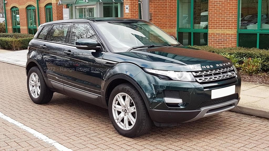 used Land Rover Range Rover Evoque SD4 Pure Tech AWD 5dr in surrey