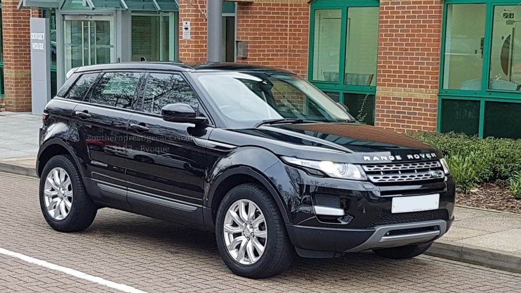 used black land rover range rover evoque for sale surrey. Black Bedroom Furniture Sets. Home Design Ideas