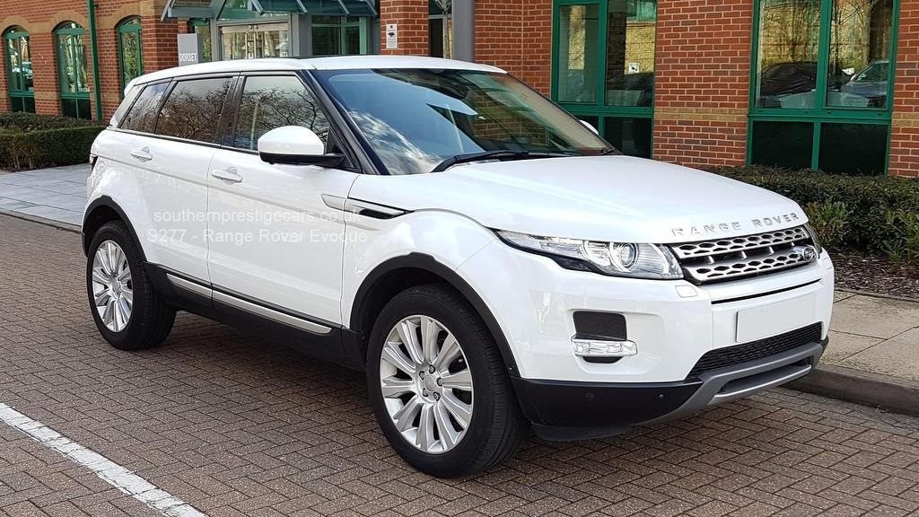 used Land Rover Range Rover Evoque SD4 Prestige Lux AWD 5dr in surrey