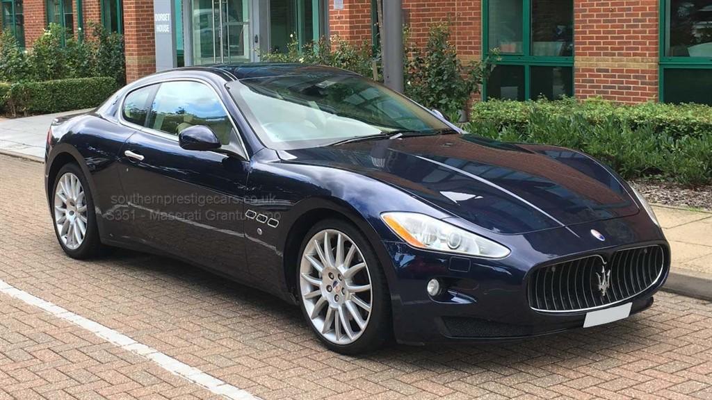 used Maserati Granturismo V8 S Auto 2dr EU4 in surrey