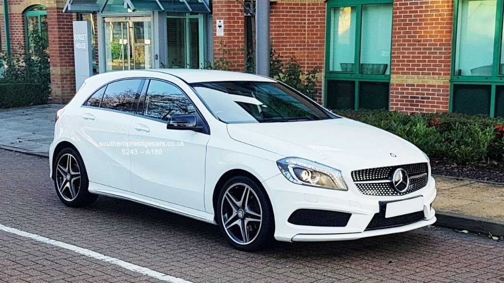used Mercedes A180 CDI A Class Night Edition 7G-DCT 5dr (E6) in surrey