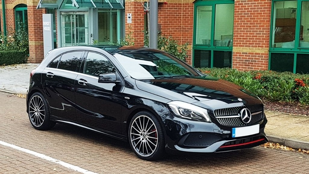 used Mercedes A250 A Class AMG (Premium) 7G-DCT 4MATIC (s/s) 5dr in surrey