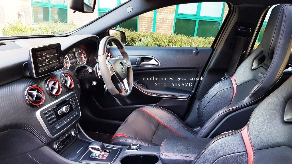 Enjoyable Used Black Mercedes A45 Amg For Sale Surrey Uwap Interior Chair Design Uwaporg
