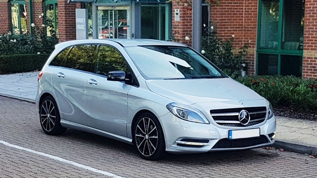 used Mercedes B200 CDI B Class Sport 7G-DCT 5dr in surrey