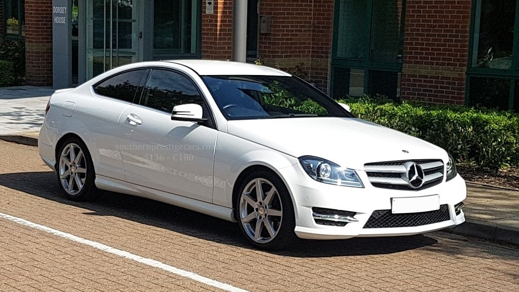 used Mercedes C180 C Class AMG Sport Edition (Premium) 7G-Tronic Plus 2dr in surrey
