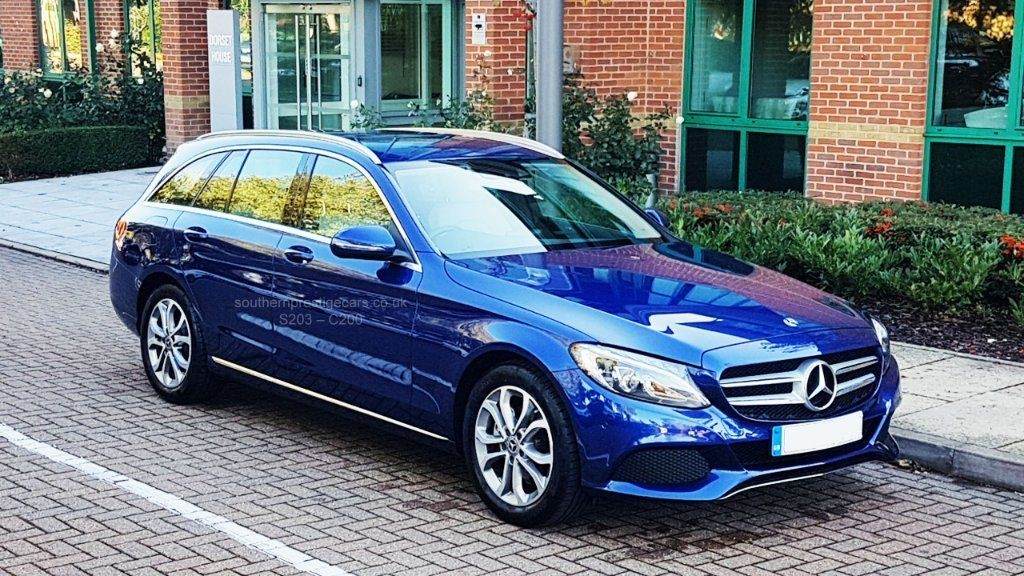used Mercedes C200 C Class Sport 9G-Tronic Plus (s/s) 5dr in surrey
