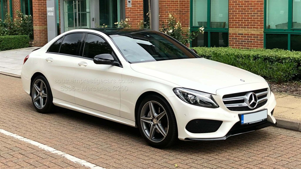 used Mercedes C200 C Class AMG Line (Premium) 7G-Tronic+ (s/s) 4dr in surrey