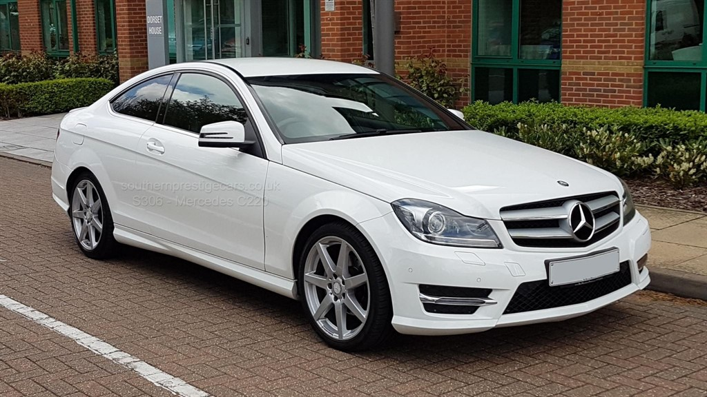 used Mercedes C220 C Class CDI AMG Sport Edition 7G-Tronic Plus 2dr in surrey