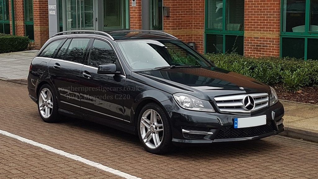 used Mercedes C220 C Class CDI AMG Sport 7G-Tronic Plus 5dr in surrey