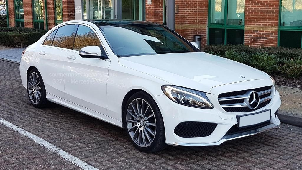 used Mercedes C250 C Class AMG Line (Premium) (s/s) 4dr in surrey