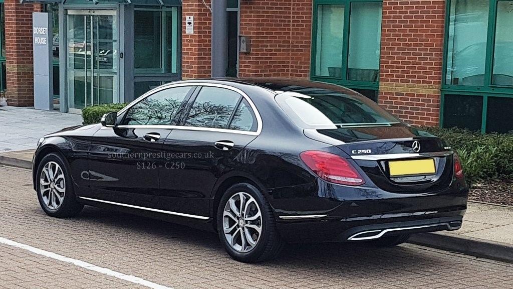 Used Black Mercedes C250 for Sale   Surrey