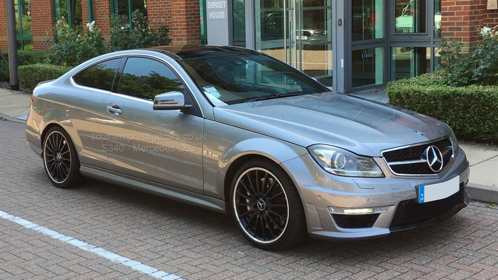used Mercedes C63 AMG C Class 6.3 Edition 125 7G-Tronic 2dr in surrey