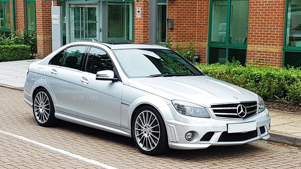 used Mercedes C63 AMG C Class 6.3 7G-Tronic 4dr in surrey
