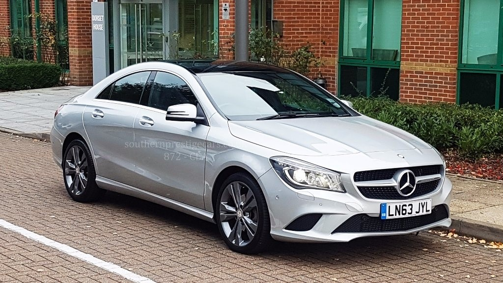 used Mercedes CLA200 CDI CLA Class Sport 7G-DCT 4dr in surrey