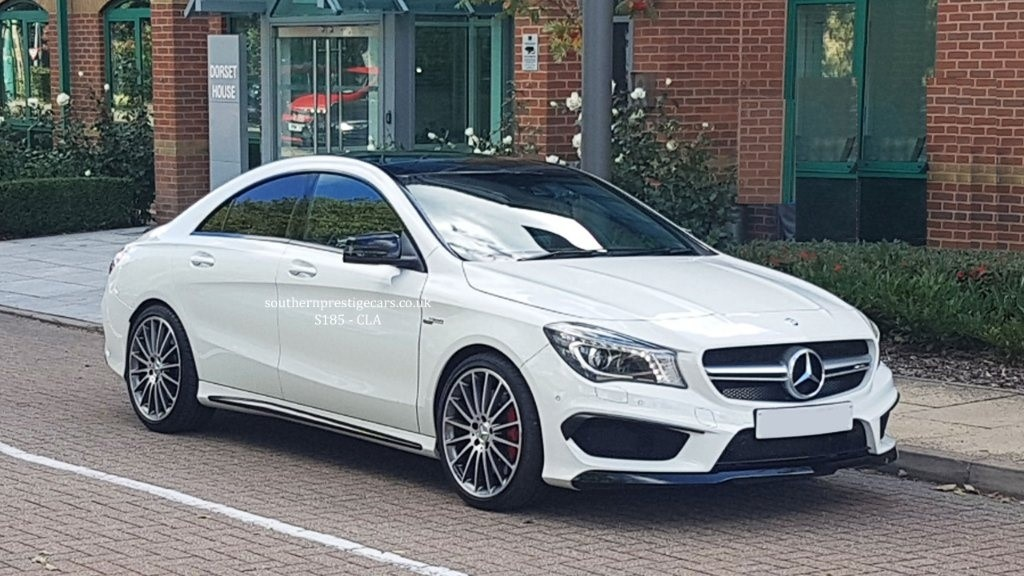 used Mercedes CLA45 AMG CLA Class Speedshift DCT 4MATIC (s/s) 4dr in surrey