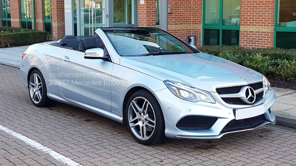 used Mercedes E200 E Class AMG Line Cabriolet 7G-Tronic Plus (s/s) 2dr in surrey
