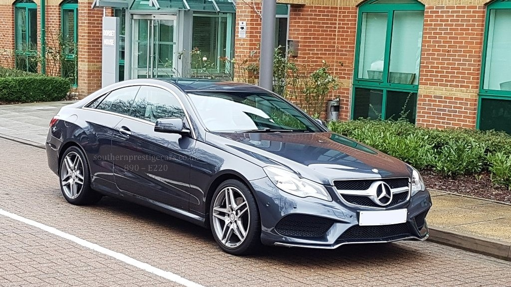used Mercedes E220 E Class CDI AMG Sport 7G-Tronic Plus 2dr in surrey