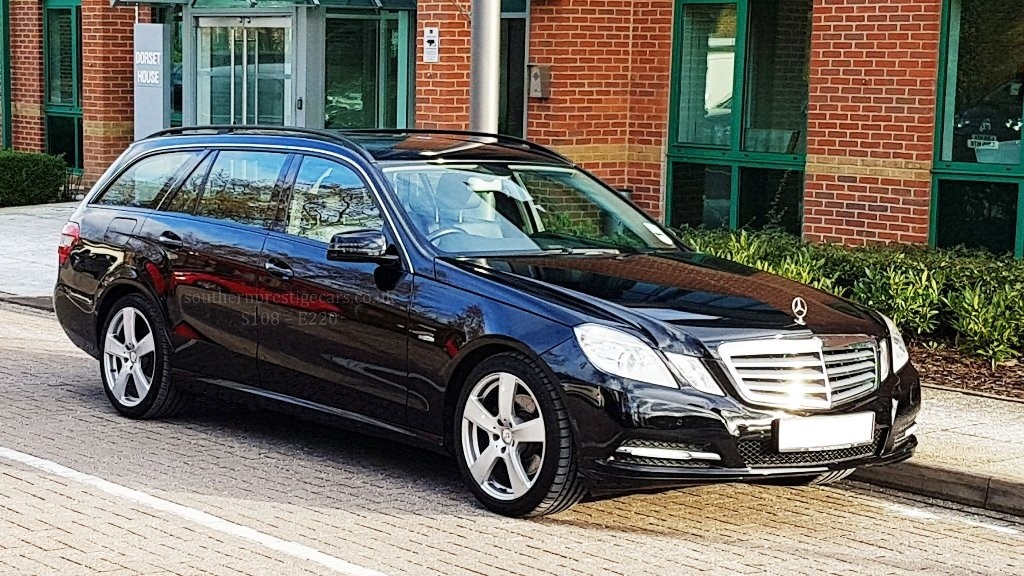 used Mercedes E220 E Class TD CDI BlueEFFICIENCY SE 5dr in surrey
