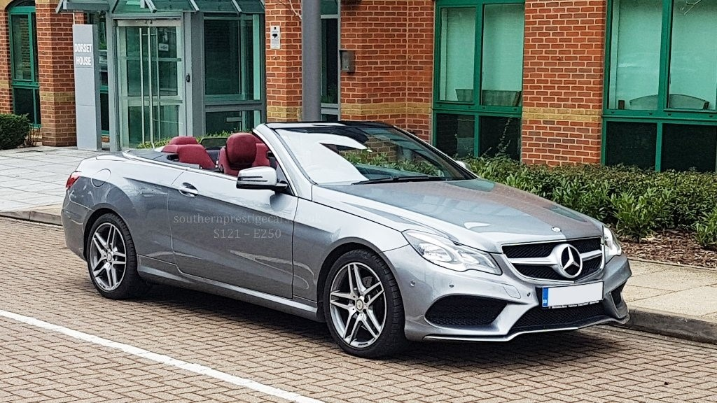 used Mercedes E250 E Class CDI AMG Line Cabriolet 7G-Tronic Plus (s/s) 2dr in surrey