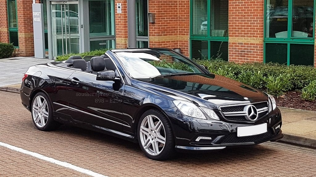 used Mercedes E250 E Class CGI BlueEFFICIENCY Sport 2dr in surrey