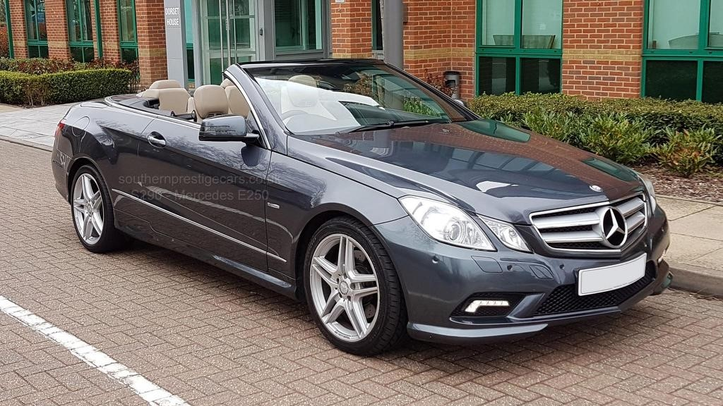 used Mercedes E250 E Class CGI BlueEFFICIENCY Sport Cabriolet 2dr in surrey