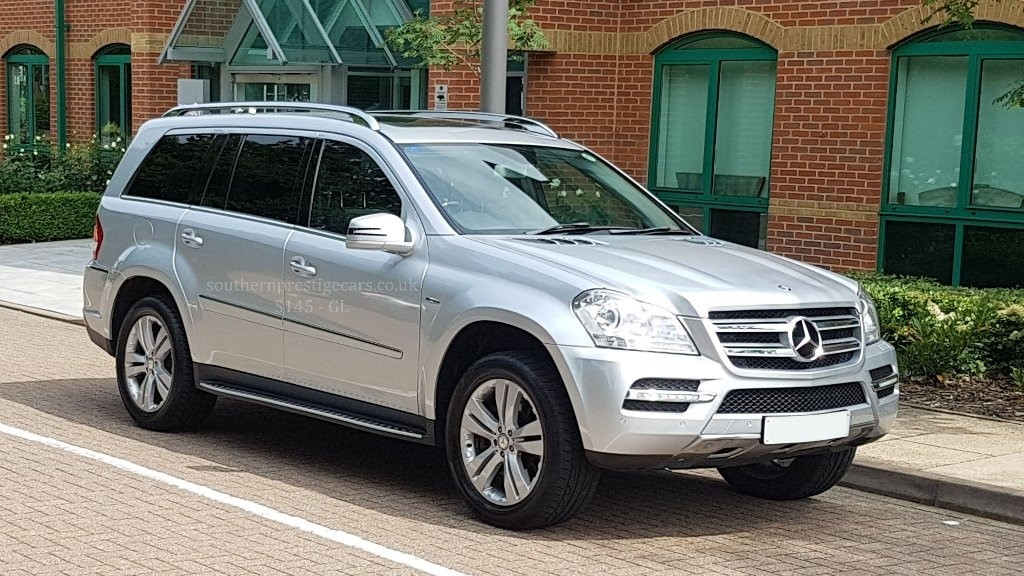 used Mercedes GL Class GL350 CDI BlueEFFICIENCY 5dr in surrey