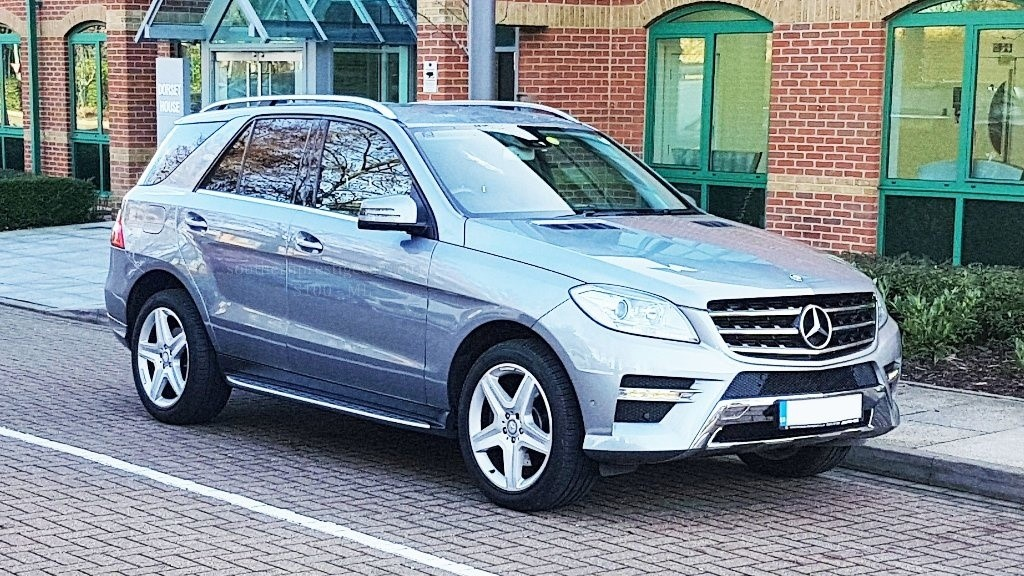 used Mercedes ML350 M Class CDI BlueTEC AMG Sport 7G-Tronic Plus 5dr in surrey