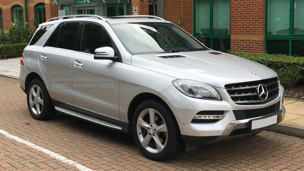 used Mercedes ML350 M Class CDI BlueTEC SE 7G-Tronic Plus 5dr in surrey