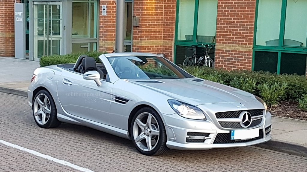 used Mercedes SLK SLK250 CDI BlueEFFICIENCY AMG Sport 7G-Tronic Plus (s/s) 2dr in surrey