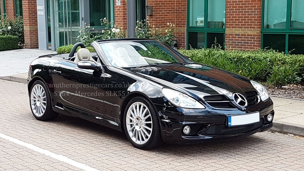 used Mercedes SLK SLK55 AMG 7G-Tronic 2dr in surrey