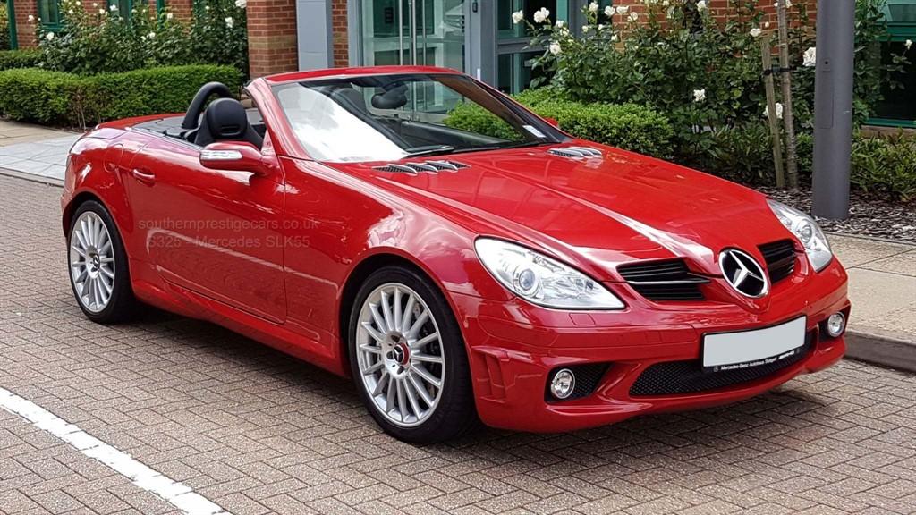 used Mercedes SLK SLK55 AMG 7G-Tronic 2dr in surrey
