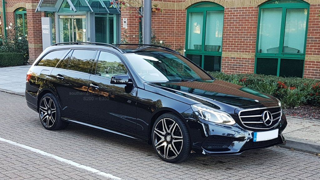 used Mercedes  E Class CDI BlueTEC AMG Night Edition 9G-Tronic Plus 5dr in surrey