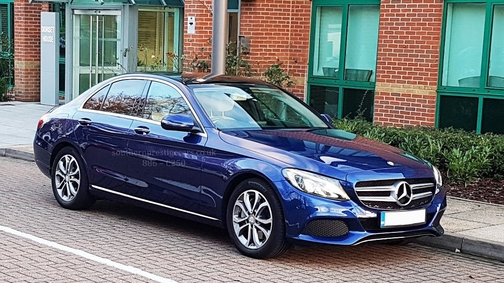 used Mercedes  C Class C250d Sport (Premium) Saloon Auto 4dr (start/stop) in surrey