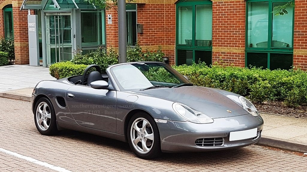 used Porsche Boxster 986 2dr in surrey