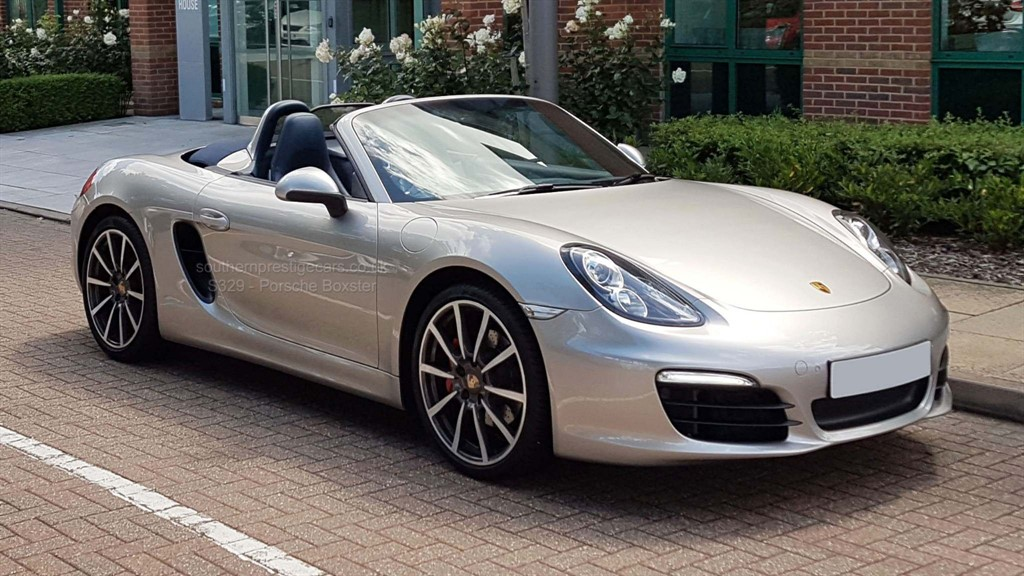 used Porsche Boxster 981 S PDK 2dr in surrey
