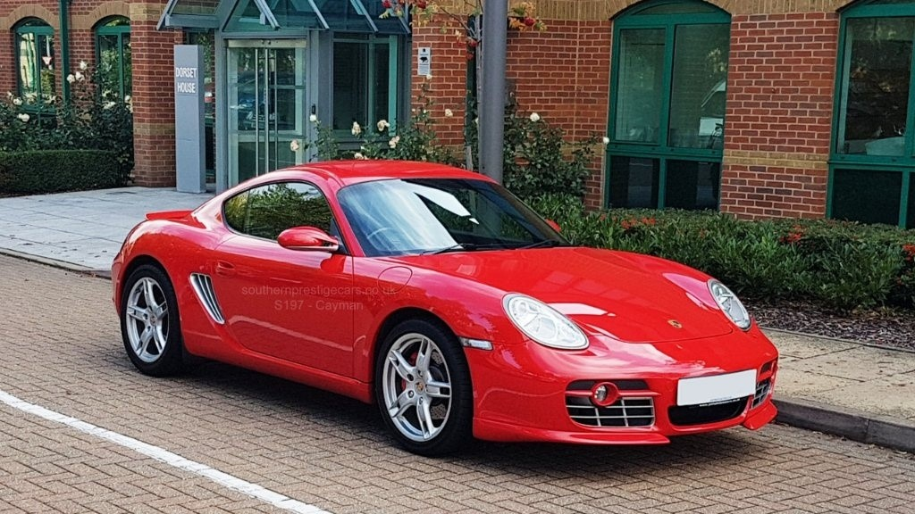 used Porsche Cayman 987 S Tiptronic 2dr in surrey